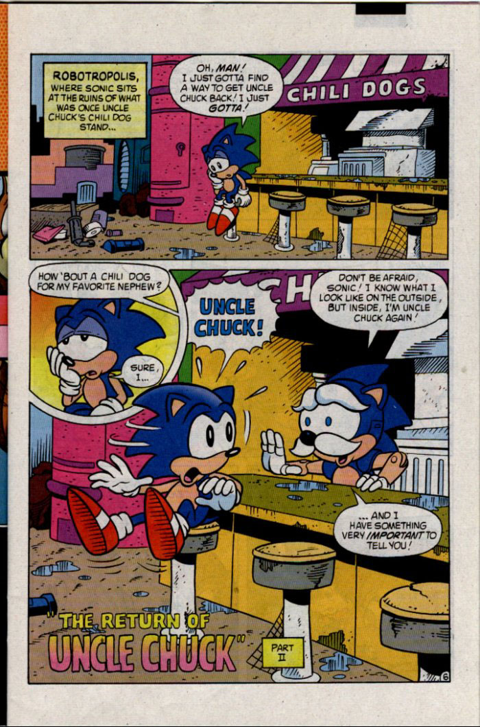 Sonic - Archie Adventure Series January 1996 Page 6