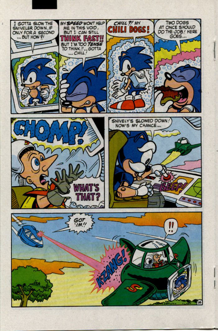 Sonic - Archie Adventure Series January 1996 Page 14