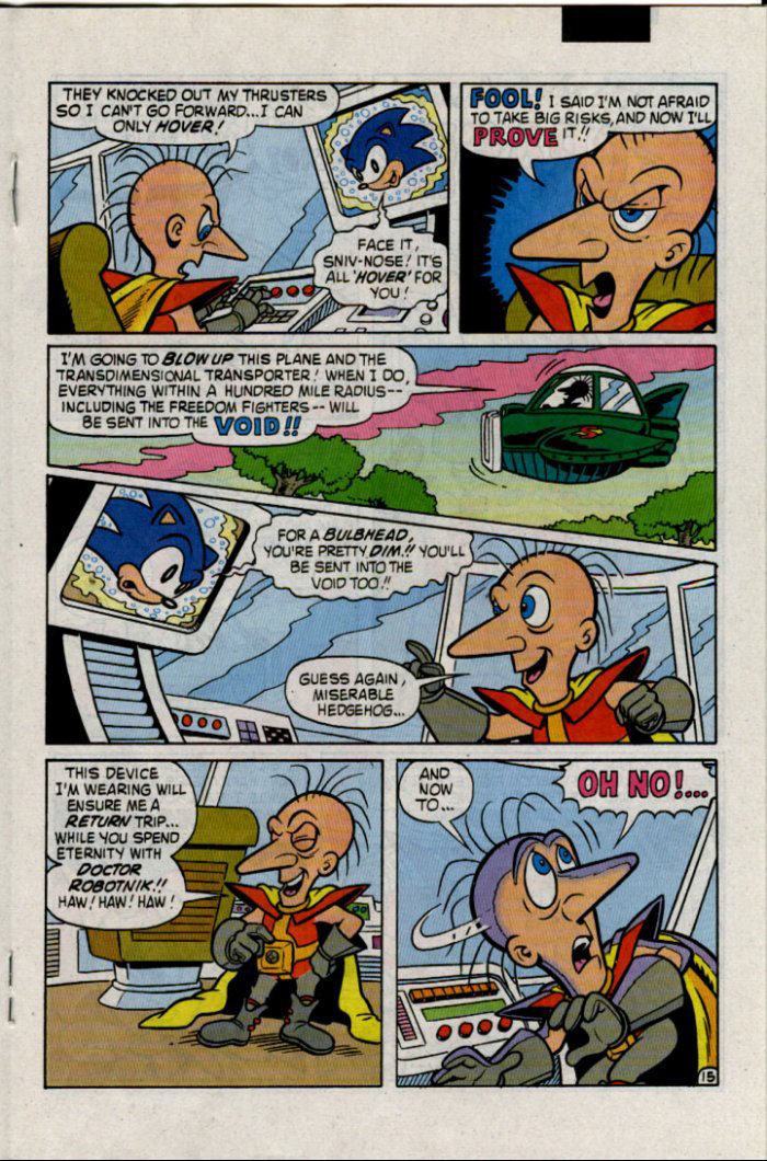 Sonic - Archie Adventure Series January 1996 Page 15