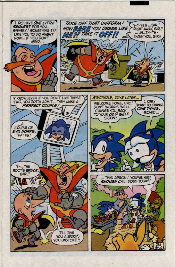 Sonic - Archie Adventure Series January 1996 Page 17