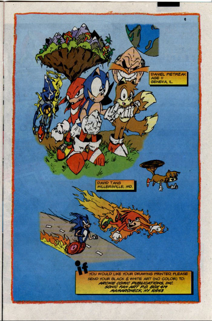 Sonic - Archie Adventure Series January 1996 Page 23