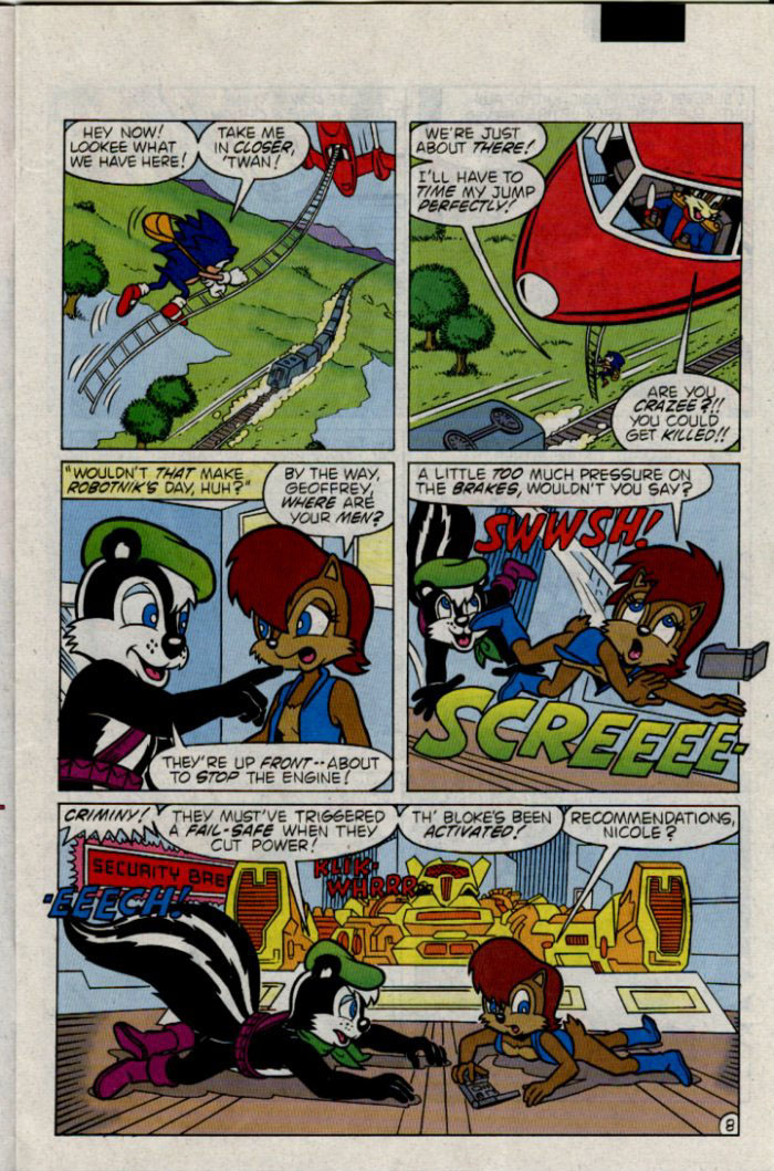Sonic - Archie Adventure Series February 1996 Page 8