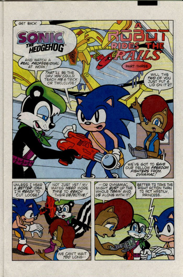 Sonic - Archie Adventure Series February 1996 Page 11
