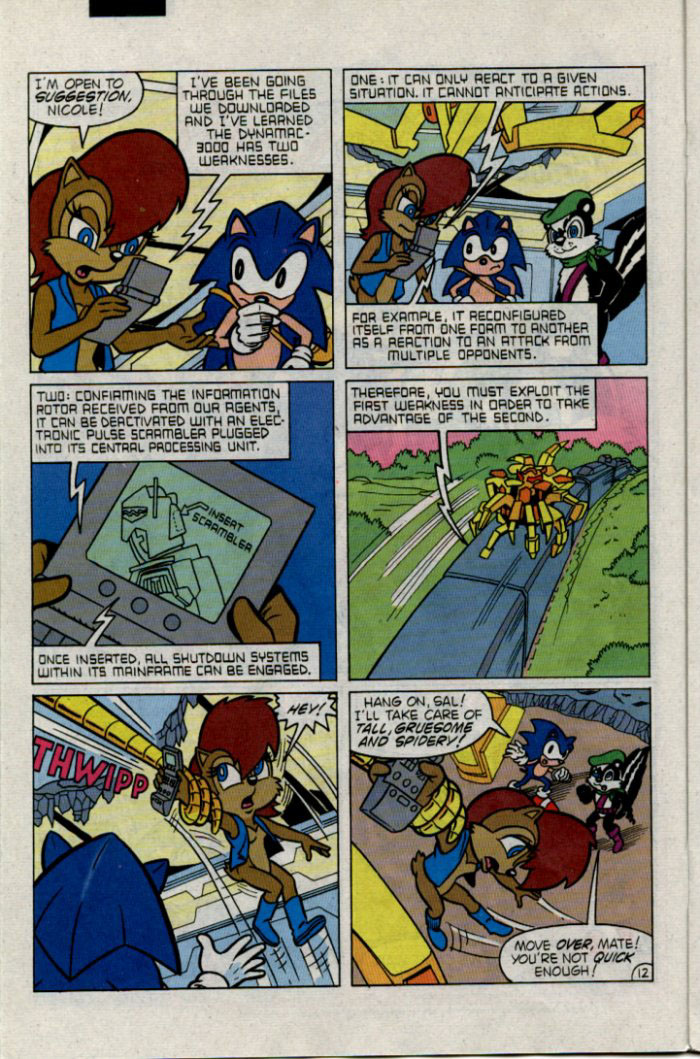 Sonic - Archie Adventure Series February 1996 Page 12