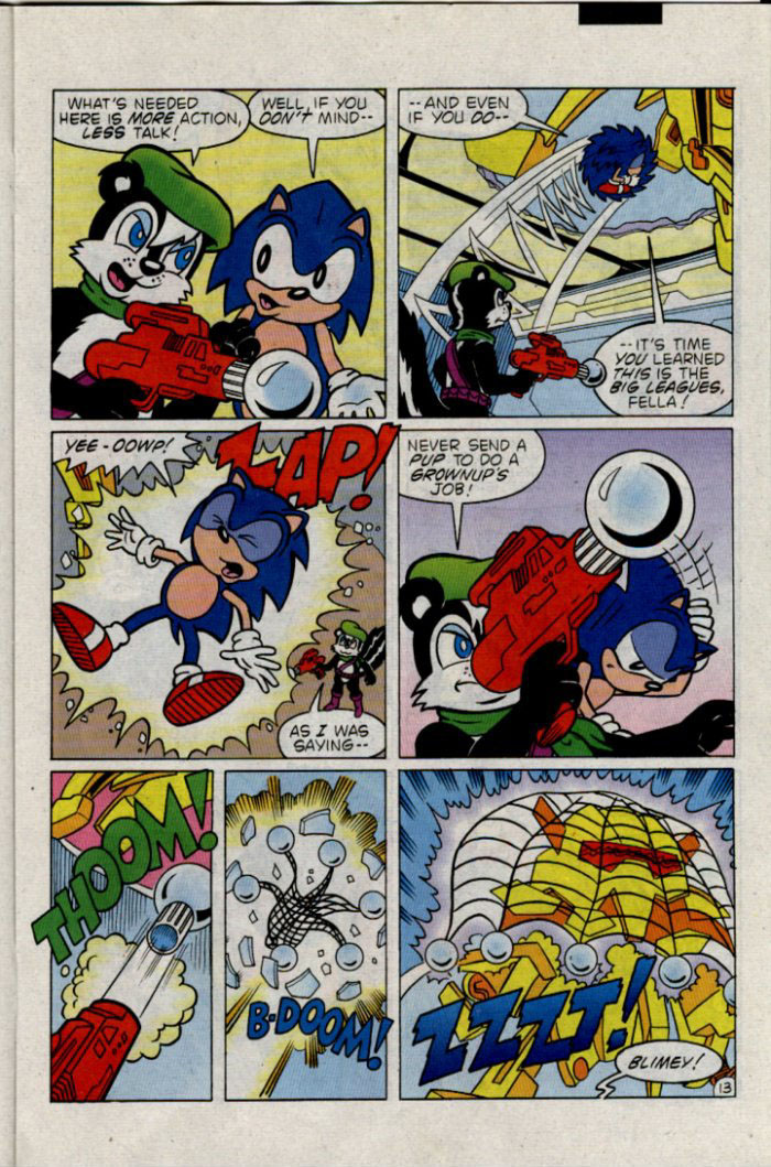 Sonic - Archie Adventure Series February 1996 Page 13
