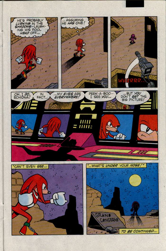 Sonic - Archie Adventure Series February 1996 Page 19