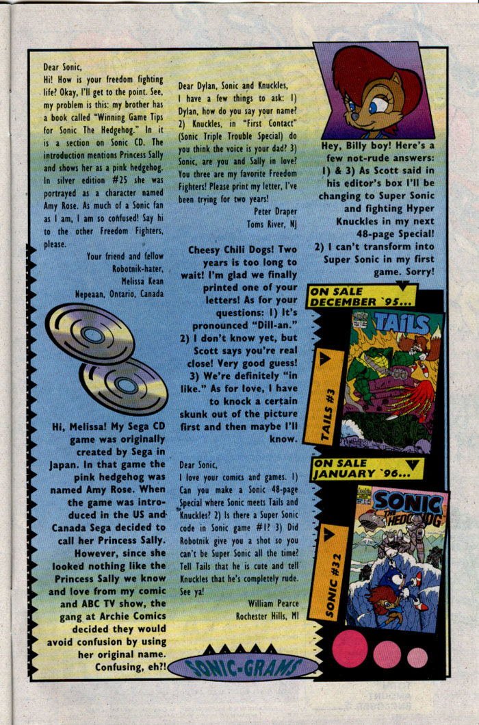 Sonic - Archie Adventure Series February 1996 Page 29