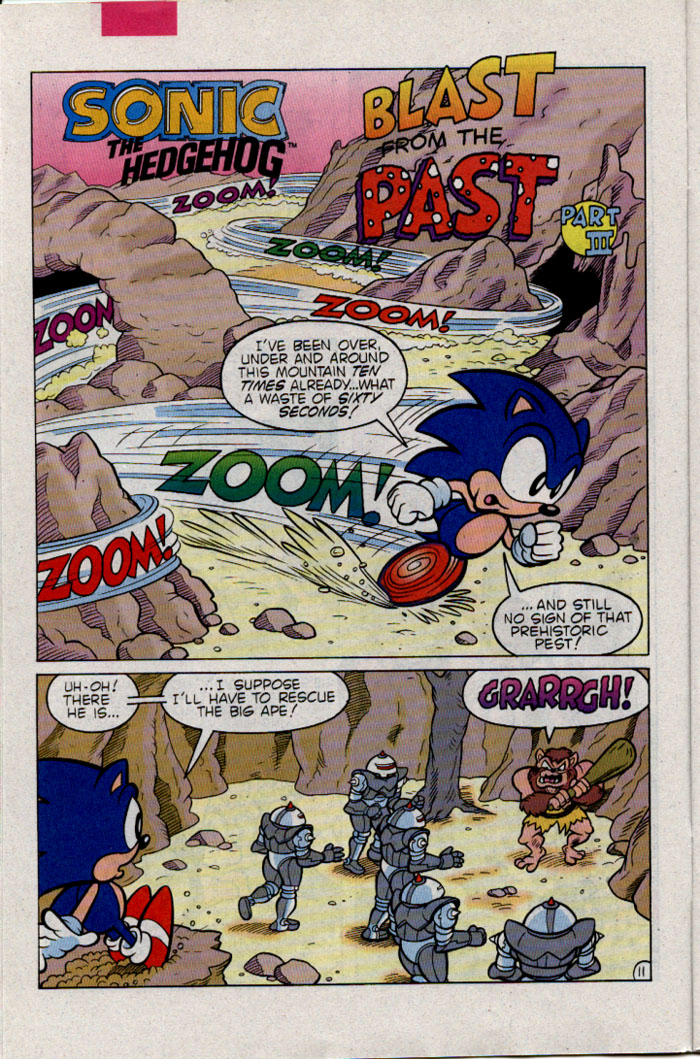 Sonic - Archie Adventure Series March 1996 Page 11
