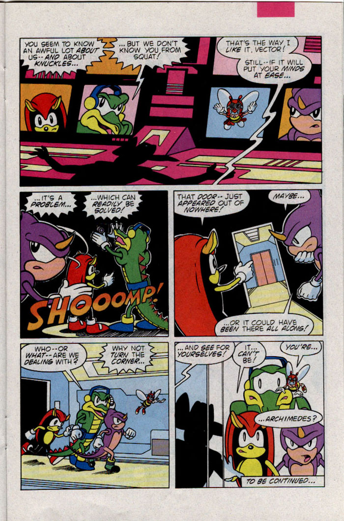 Sonic - Archie Adventure Series March 1996 Page 18