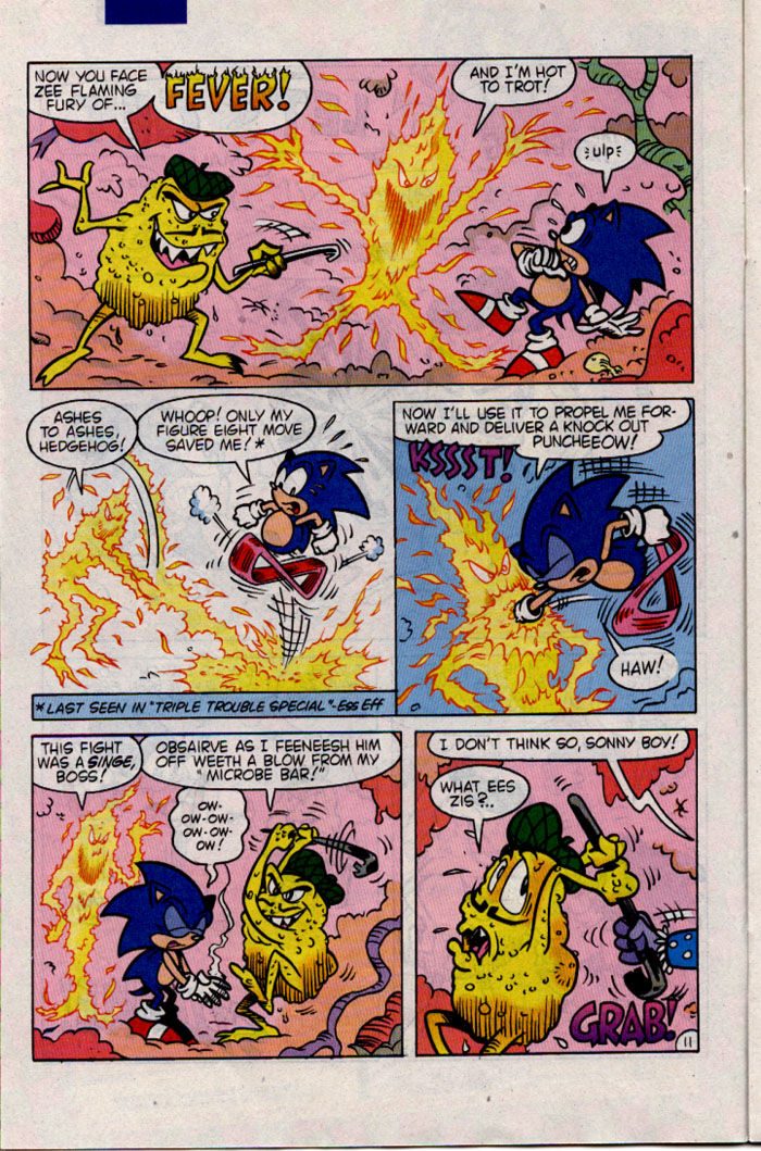 Sonic - Archie Adventure Series April 1996 Page 11