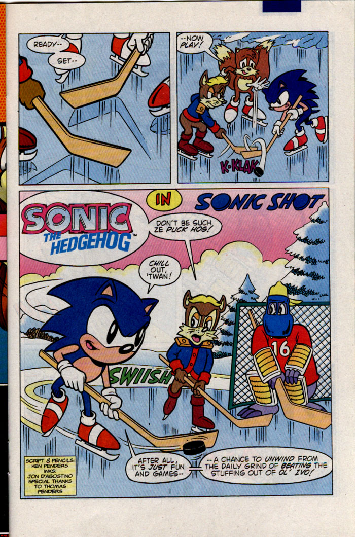Sonic - Archie Adventure Series April 1996 Page 19
