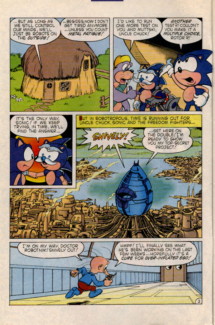 Sonic - Archie Adventure Series May 1996 Page 2
