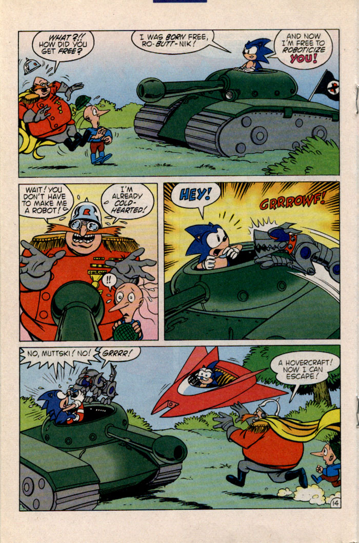 Sonic - Archie Adventure Series May 1996 Page 15