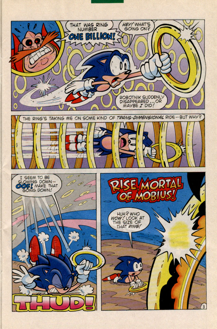 Sonic - Archie Adventure Series June 1996 Page 3