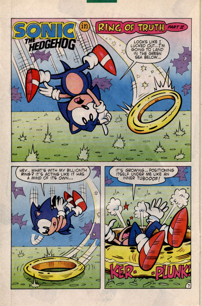 Sonic - Archie Adventure Series June 1996 Page 7