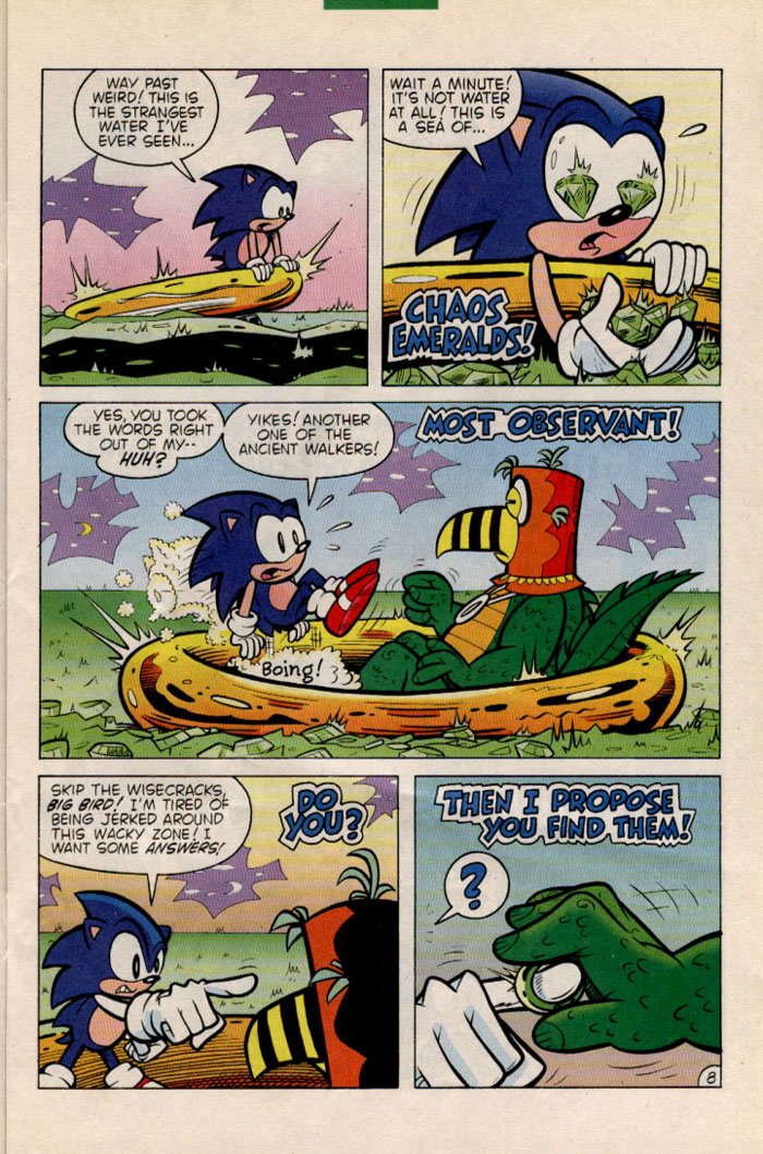 Sonic - Archie Adventure Series June 1996 Page 8