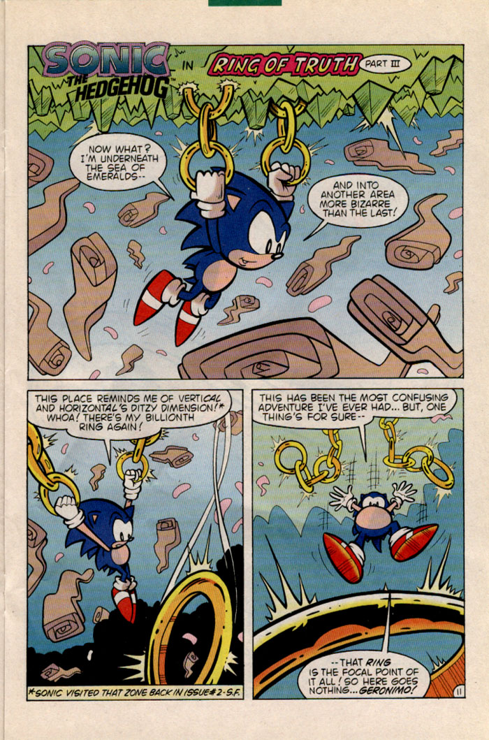 Sonic - Archie Adventure Series June 1996 Page 11