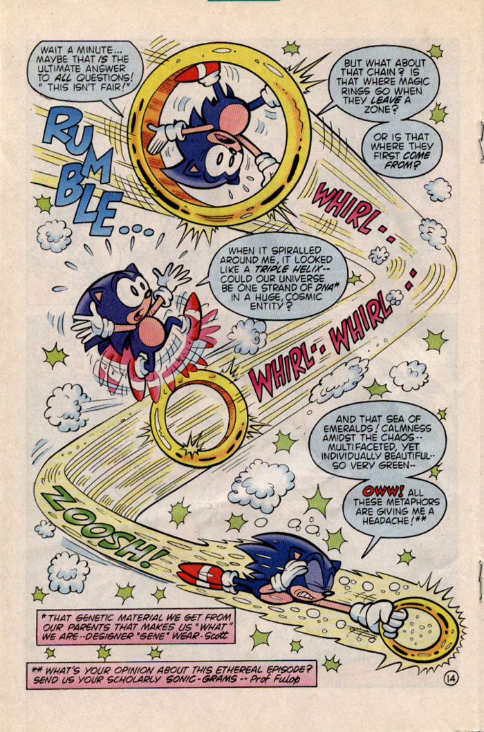 Sonic - Archie Adventure Series June 1996 Page 14