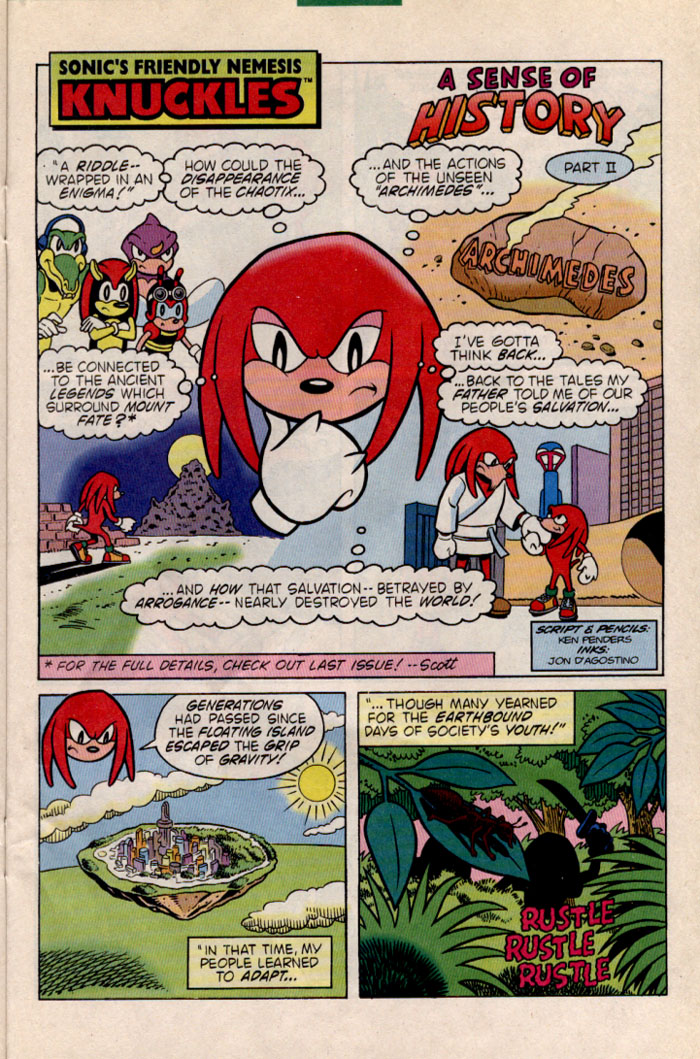 Sonic - Archie Adventure Series June 1996 Page 18