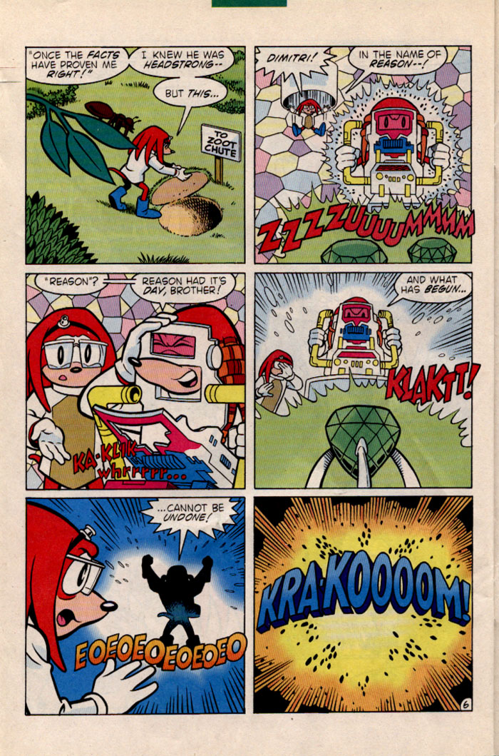 Sonic - Archie Adventure Series June 1996 Page 23