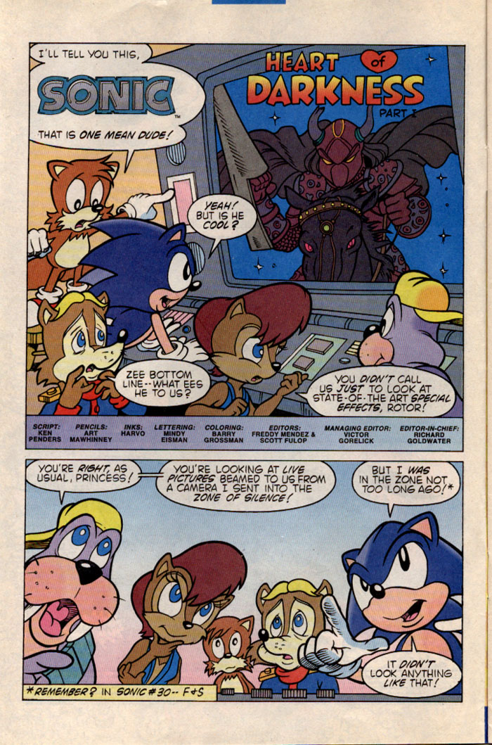 Sonic - Archie Adventure Series July 1996 Page 2