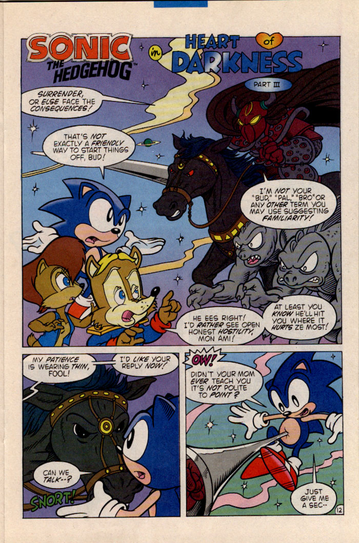 Sonic - Archie Adventure Series July 1996 Page 13