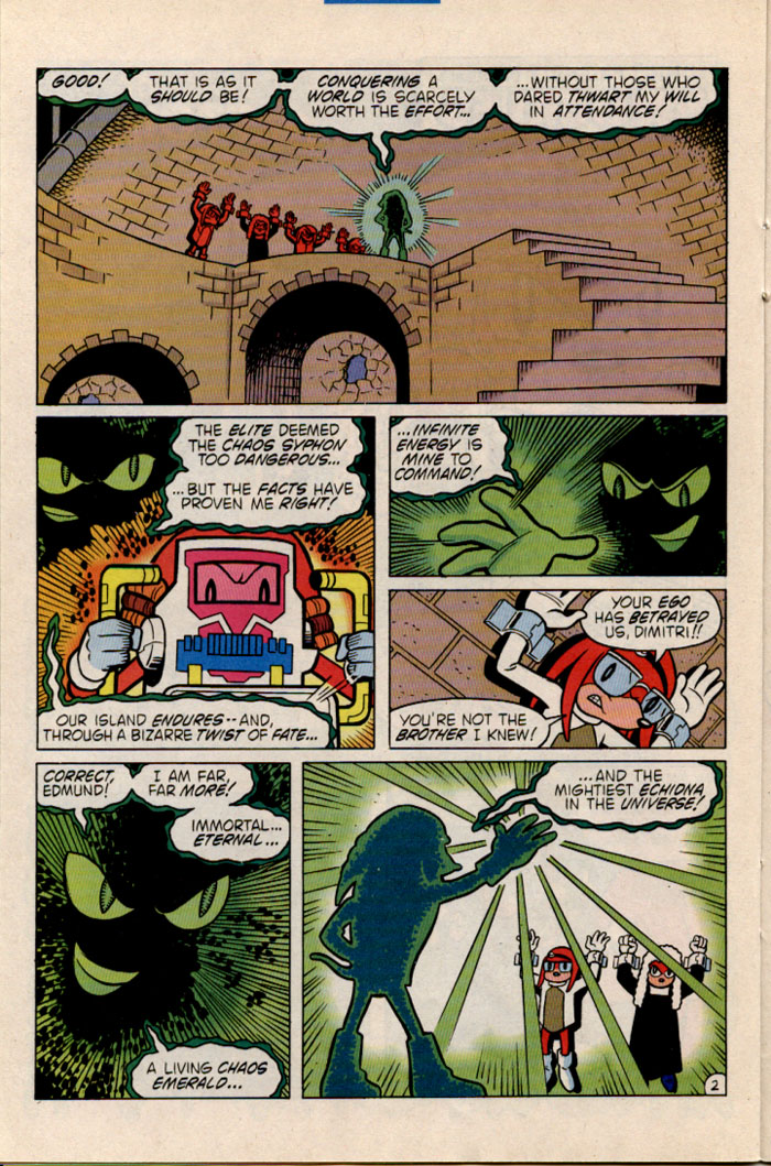 Sonic - Archie Adventure Series July 1996 Page 19