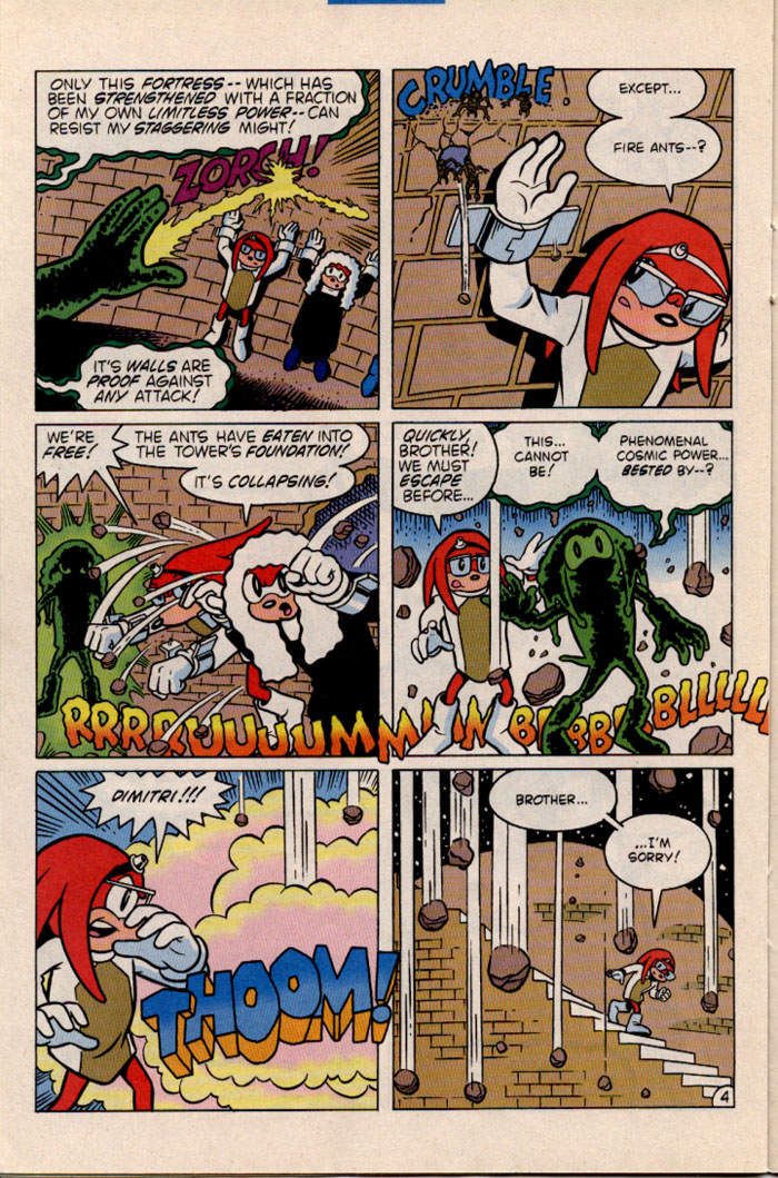Sonic - Archie Adventure Series July 1996 Page 21