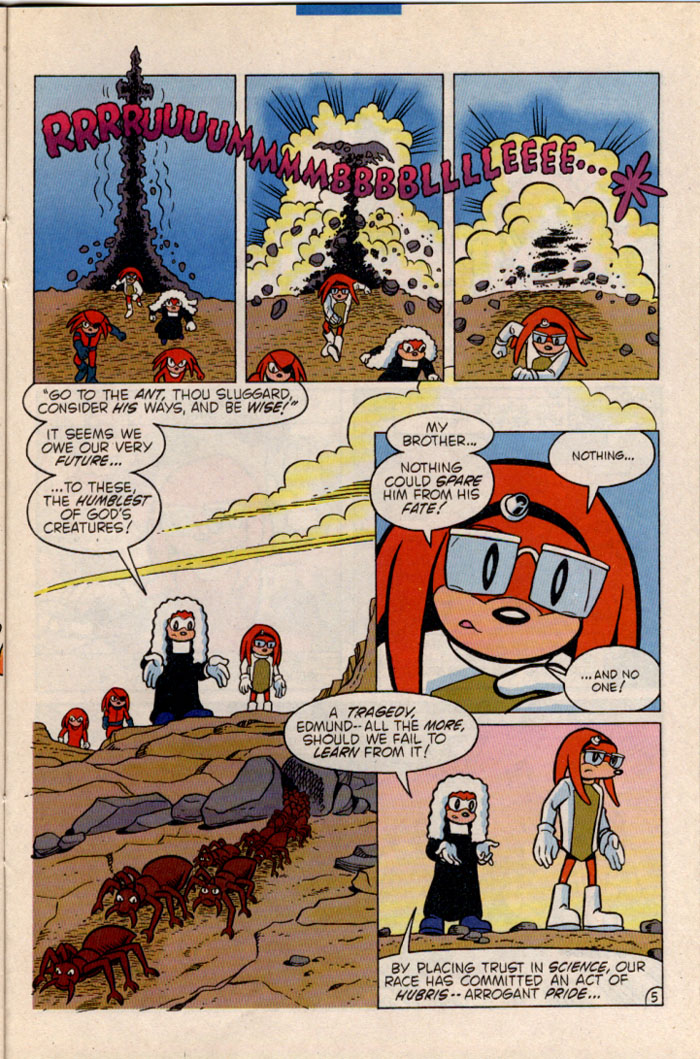 Sonic - Archie Adventure Series July 1996 Page 22
