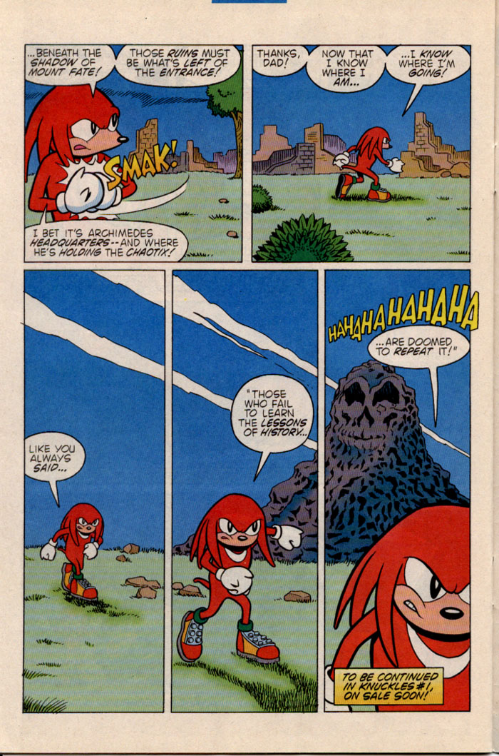 Sonic - Archie Adventure Series July 1996 Page 25