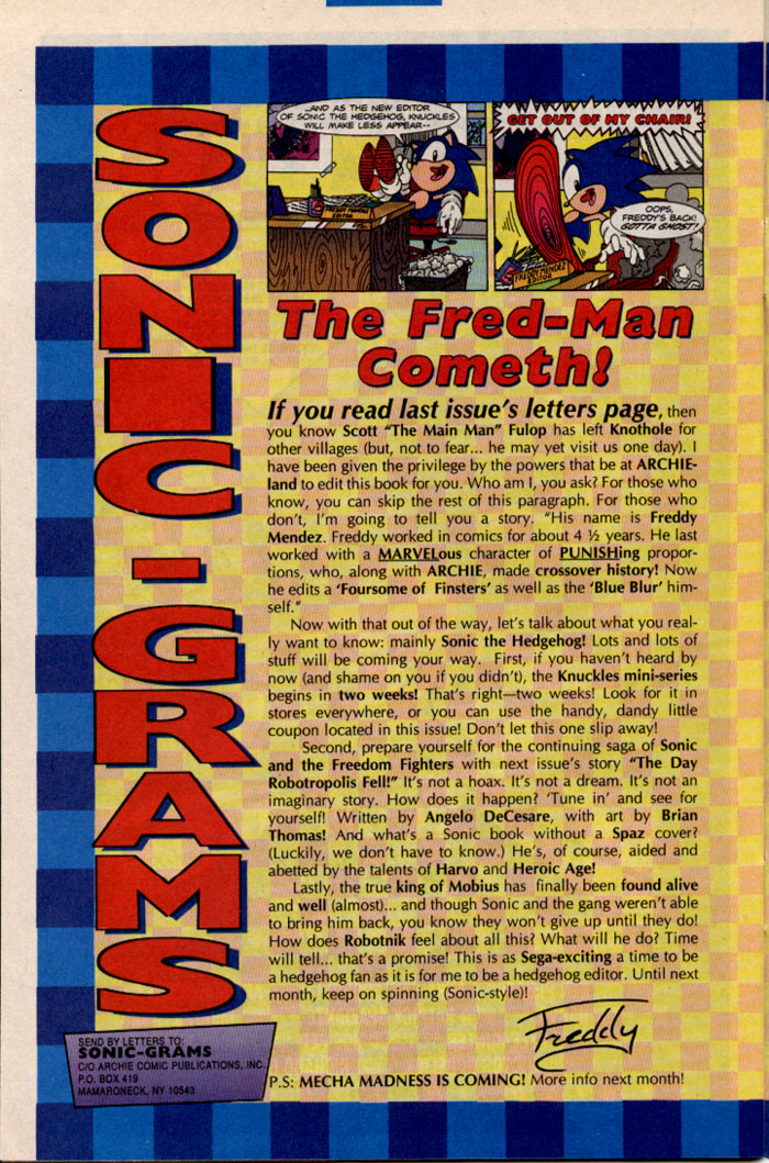 Sonic - Archie Adventure Series July 1996 Page 26