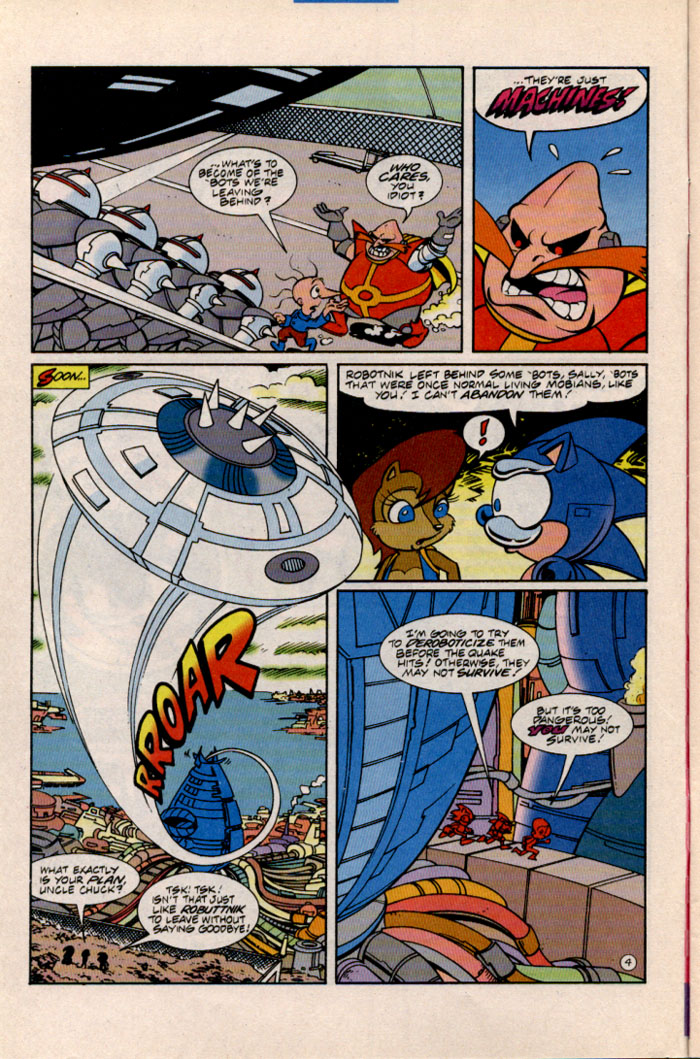 Sonic - Archie Adventure Series August 1996 Page 4