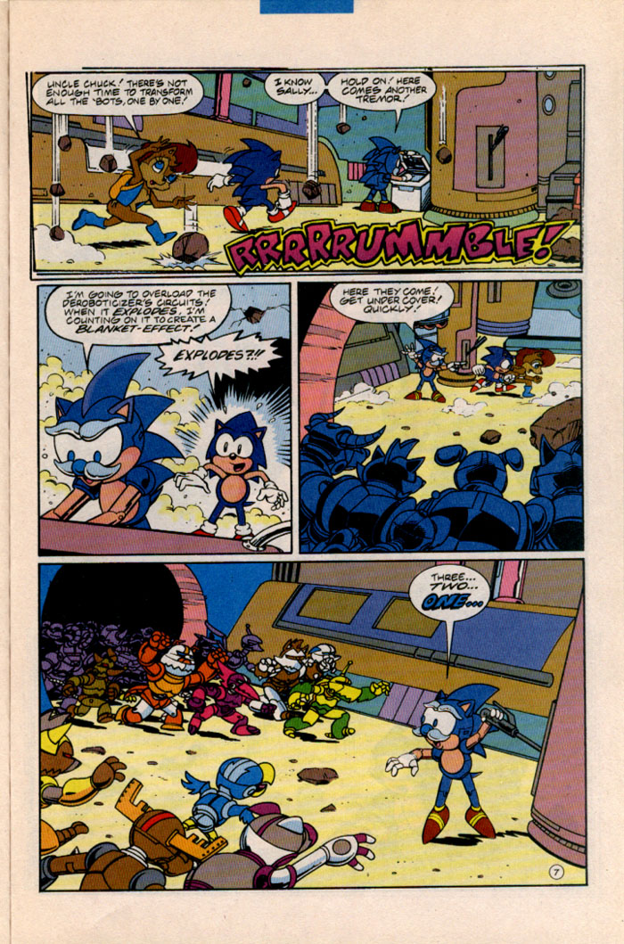 Sonic - Archie Adventure Series August 1996 Page 7