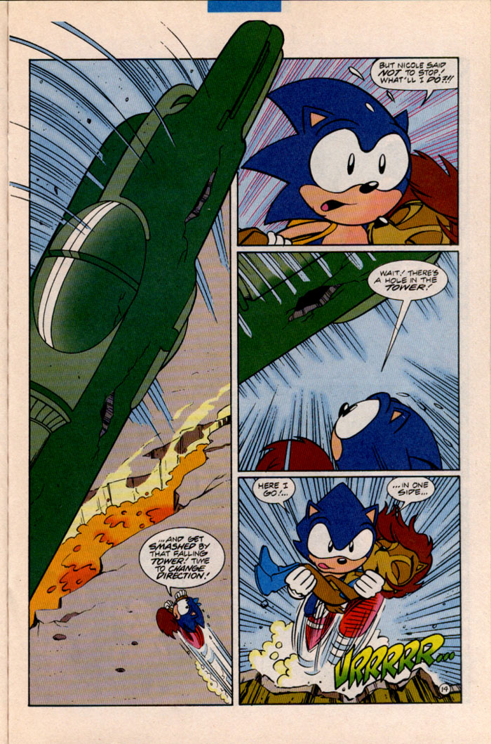 Sonic - Archie Adventure Series August 1996 Page 14