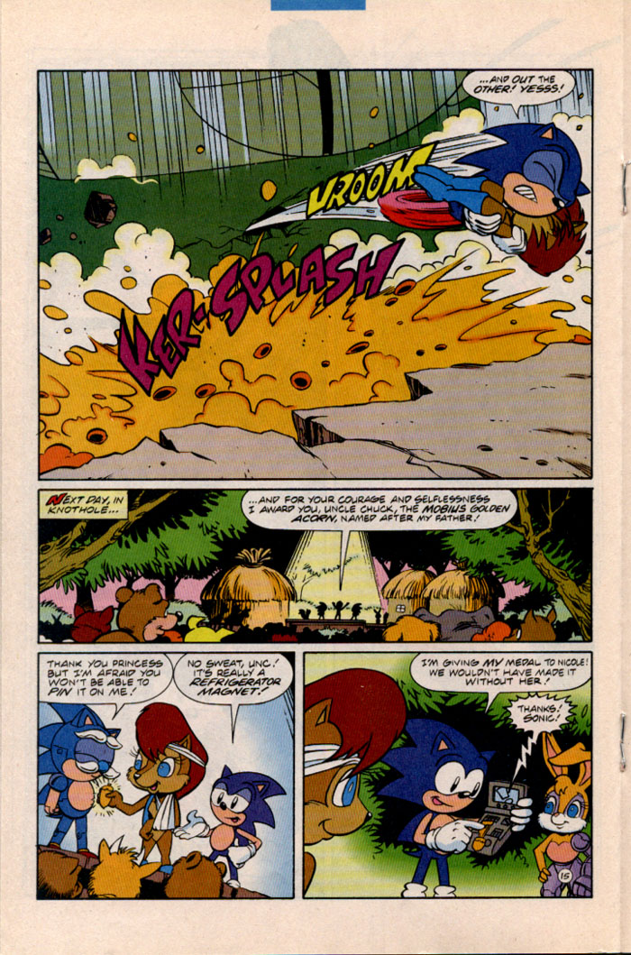Sonic - Archie Adventure Series August 1996 Page 15