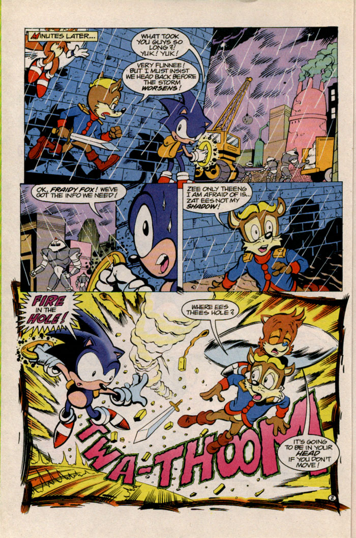 Sonic - Archie Adventure Series September 1996 Page 2
