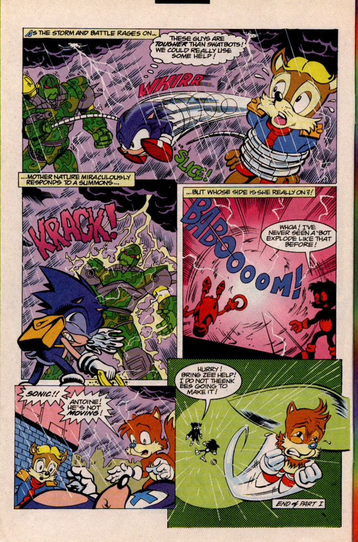 Sonic - Archie Adventure Series September 1996 Page 4