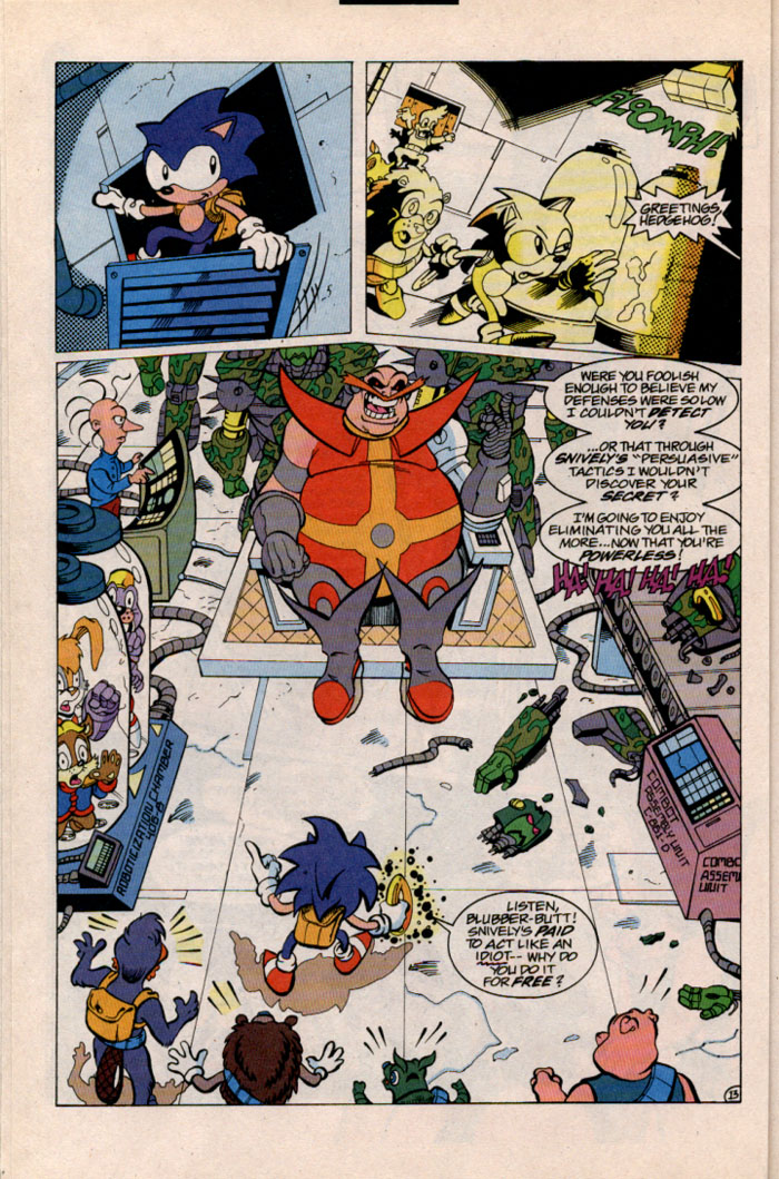 Sonic - Archie Adventure Series September 1996 Page 13