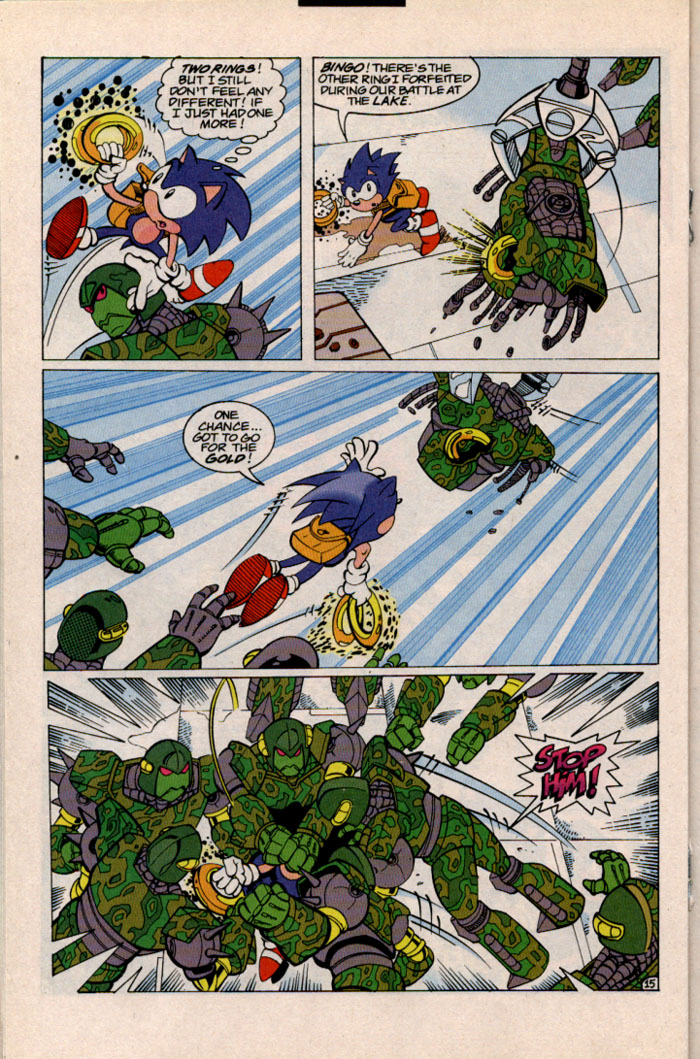 Sonic - Archie Adventure Series September 1996 Page 15