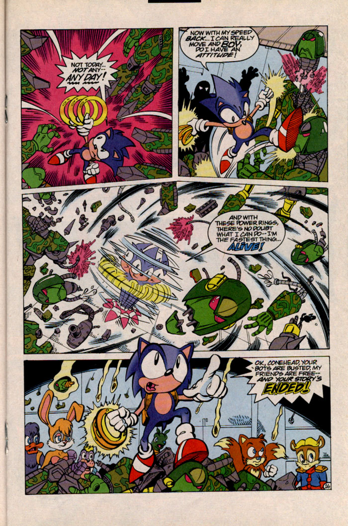 Sonic - Archie Adventure Series September 1996 Page 16