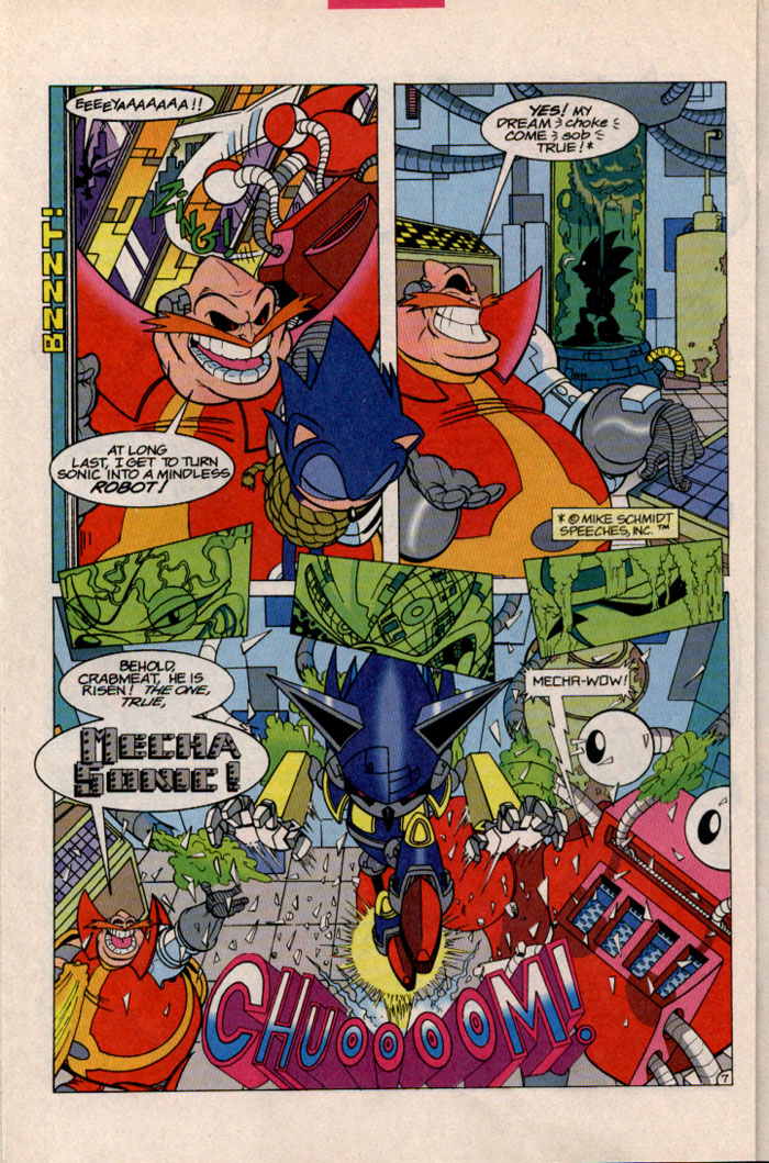Sonic - Archie Adventure Series October 1996 Page 7