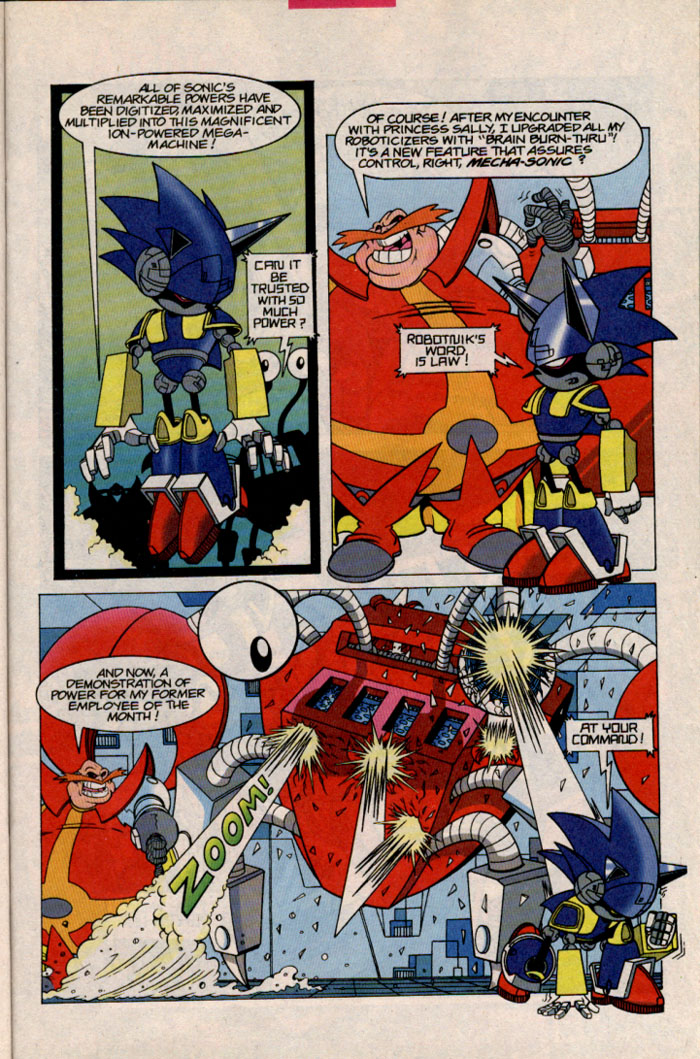 Sonic - Archie Adventure Series October 1996 Page 8