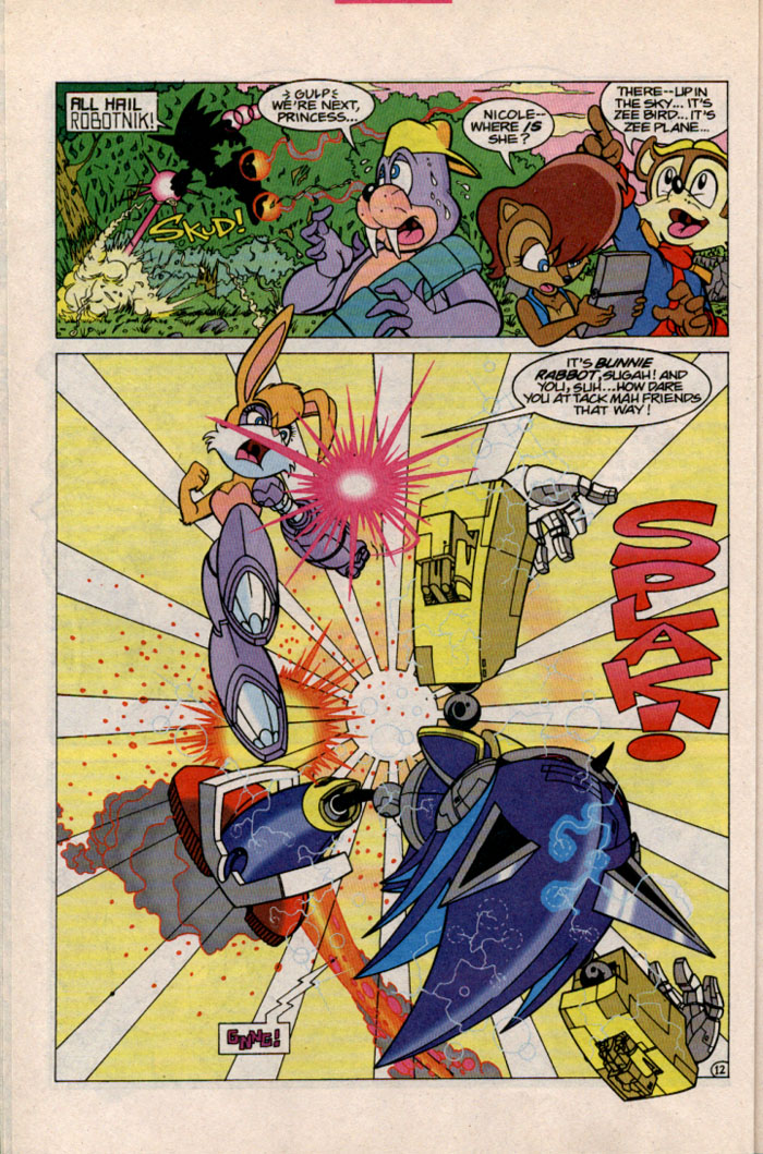 Sonic - Archie Adventure Series October 1996 Page 12