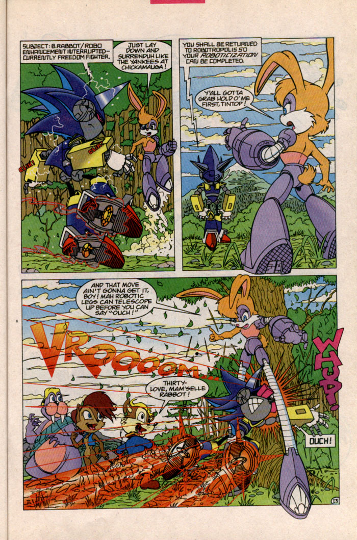 Sonic - Archie Adventure Series October 1996 Page 13