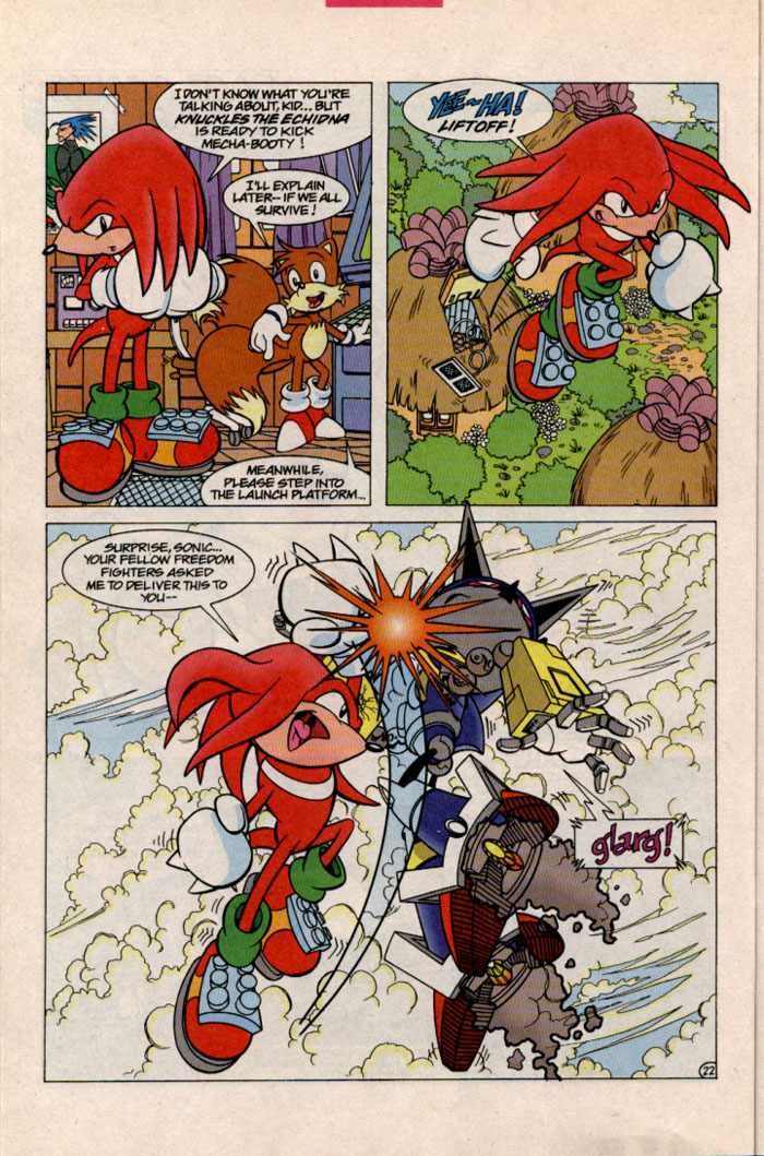 Sonic - Archie Adventure Series October 1996 Page 24