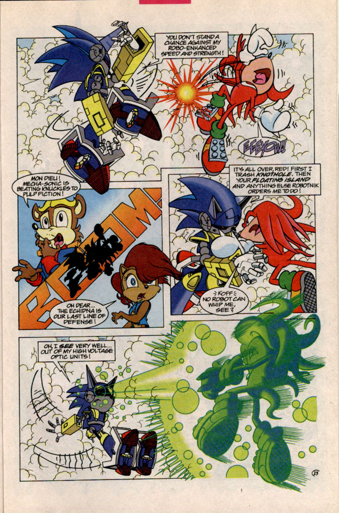 Sonic - Archie Adventure Series October 1996 Page 25
