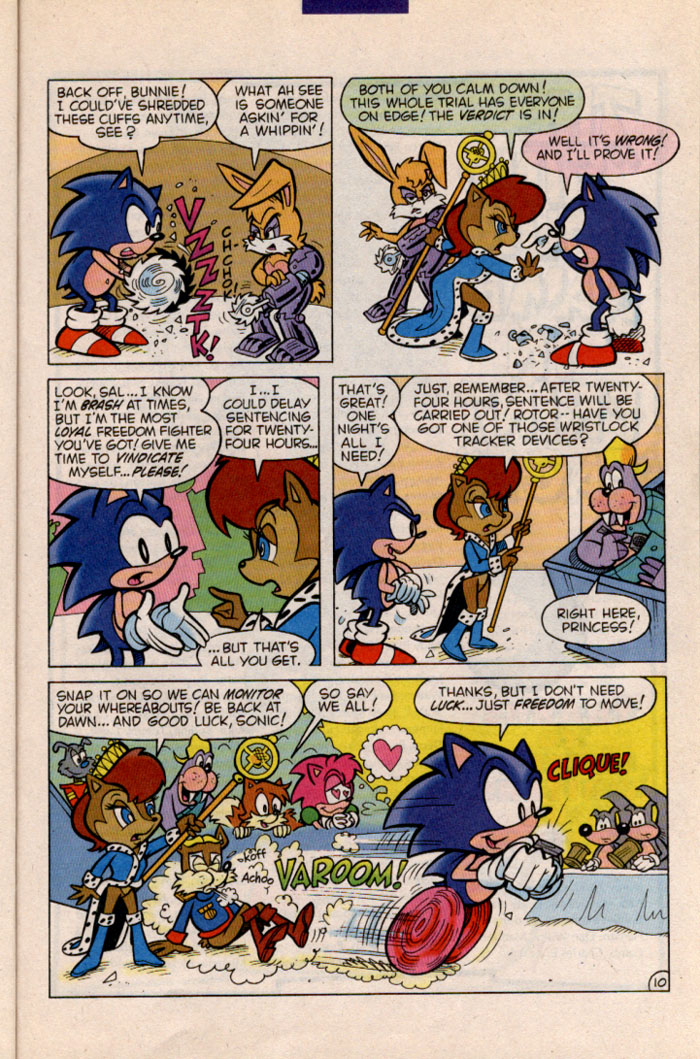 Sonic - Archie Adventure Series November 1996 Page 10