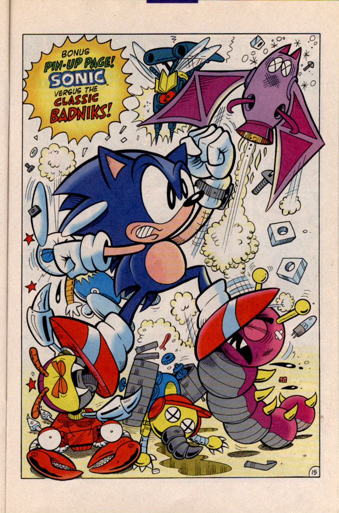 Sonic - Archie Adventure Series November 1996 Page 17