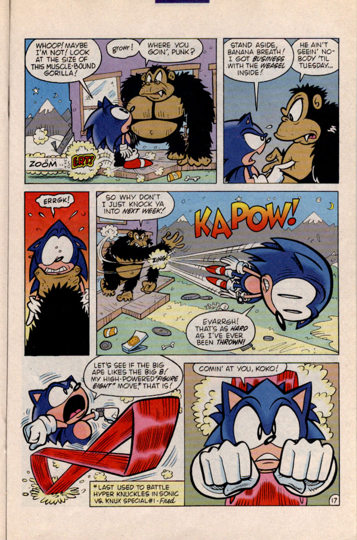 Sonic - Archie Adventure Series November 1996 Page 19