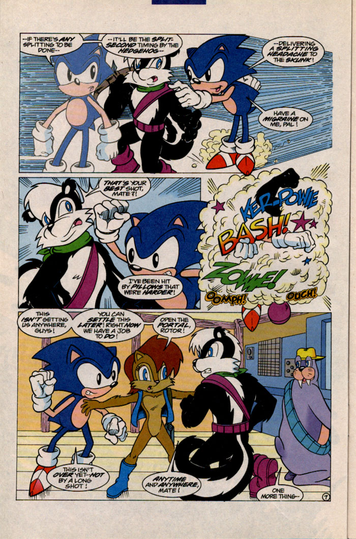Sonic - Archie Adventure Series December 1996 Page 7